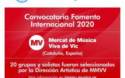 DELEGACIÓN ARGENTINA EN EL MMVV 2020